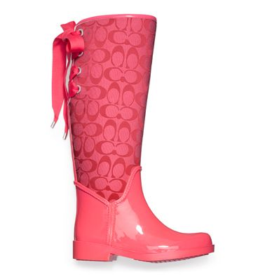 TRISTEE RAINBOOT style:Q1524 CYCLAMEN #Coach