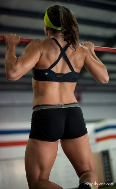 Alicia Gomes, CF Games athlete and awesome post on getting right with how you see your body