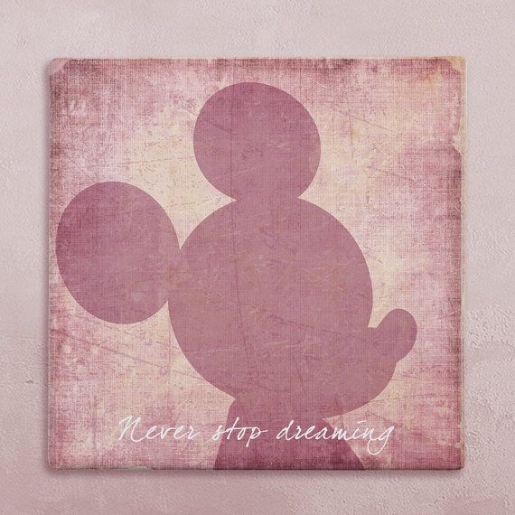 Disney Wall Art Canvas In Vintage Style Mickey Mouse  sc 1 st  Elitflat & Home Decor and Decorating Idea - Elitflat