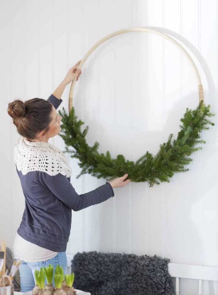 Gör en vacker julkrans | Lantliv.com