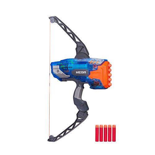 Cool Guns Toys For Boys : Nerf n strike elite mega series sonic ice thunderbow