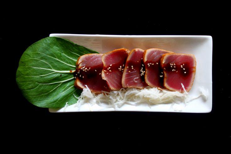 Tataki de atún Tuna tataki