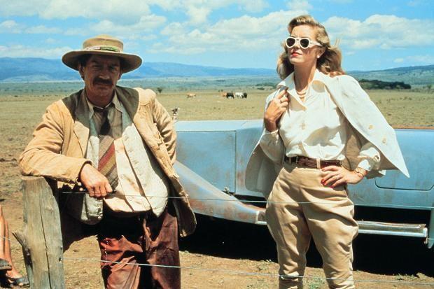 john hurt white mischief | Greta Scacchi with John Hurt in the 1987 film White Mischief Allstar ...
