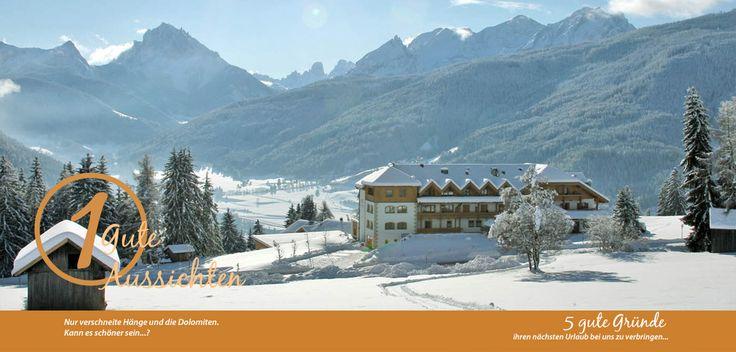 Hotel Kronplatz, Wellnesshotel im Pustertal in Taisten Südtirol - Wellnesshotel Alpenhof