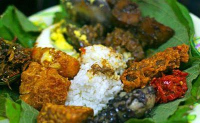 Nasi Jamblang Makanan Khas Daerah Cirebon, Jawa Barat #PINdonesia