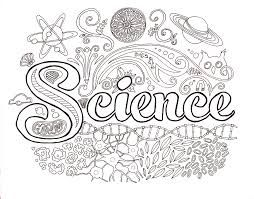 science coloring page getcoloringpagescom - Science Coloring Pages