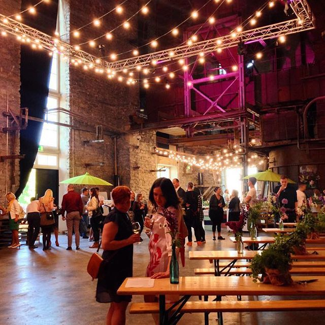 So one more event is done. Now writing from my hotel room and visualizing what happened in the whirlwind of events in the past 12 hours. Here're the first guests arriving and filling up the space at the gorgeous boiler room @kultuurikatel! #conferencefoodistasty // #wefactoryandco x #meltfoorum2016
