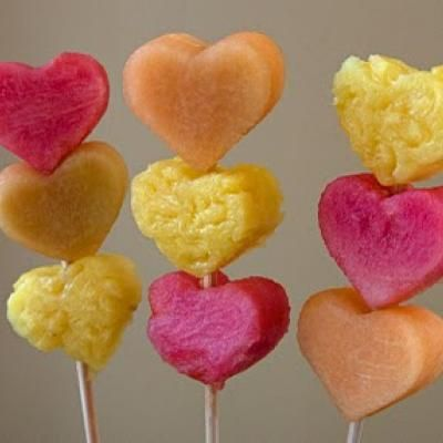 Valentine's Day Fruit [Healthy Valentine Treats] **What a FAB idea! How about