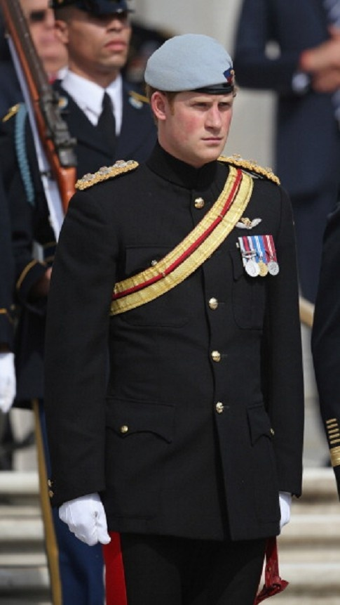 HRH Prince Harry visit Arlington Virginia National Cemetery on his second day tour in the USA