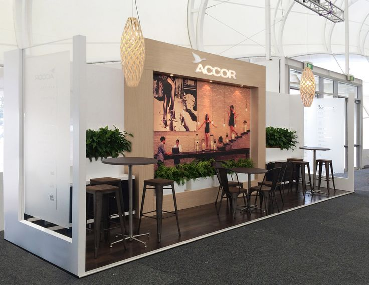 Exhibition Stand Hire Wellington : Accor exhibition stand at trenz designed and built