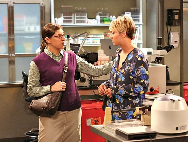 Let's Call Last Night's Big Bang Theory Premiere What It Really Was: Amy's Funniest Moments #MayimBialik
