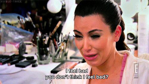 Kim Kardashian, Crying, GIF