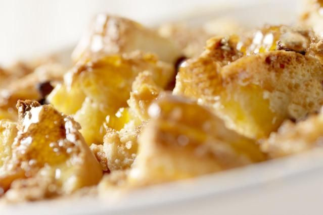 Brioche Bread Pudding Recipe With Vanilla Custard