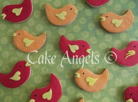Busy Bird Cookies ...