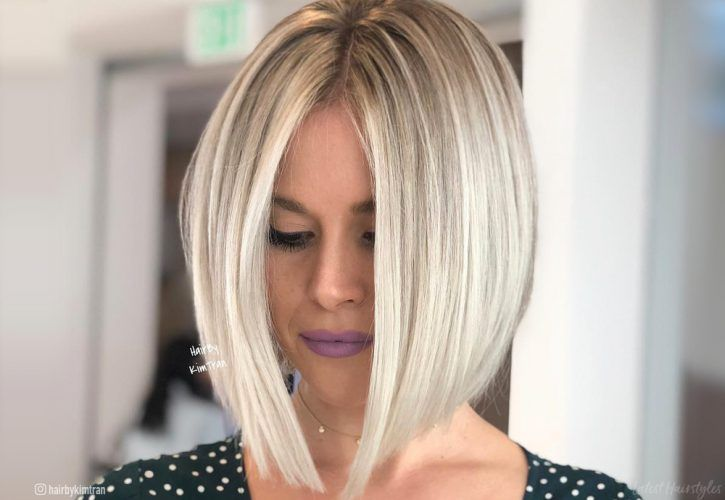 26+ Blonde bob hairstyles 2020 info