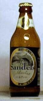 Sandels juhlaolut bottle by Olvi