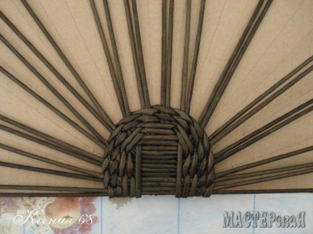 Плетение из газет. СУНДУЧОК. Мастер-класс (18) (640x480, 141Kb)