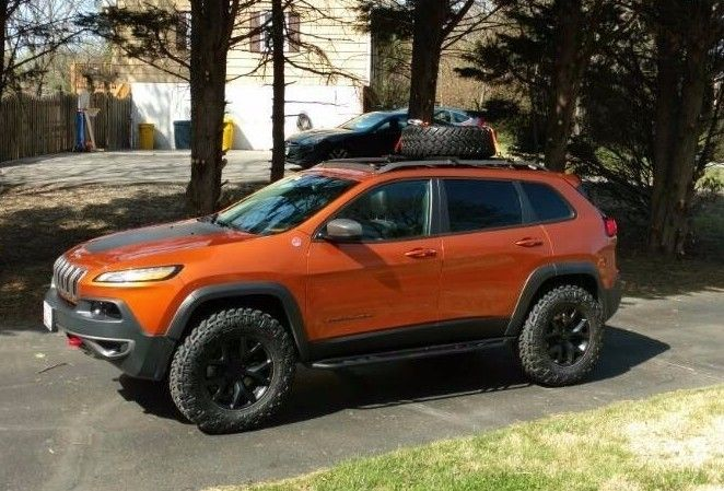 2014 2017 Jeep Cherokee Lift Kit Trailhawk Ad1 Ad2 Jeep