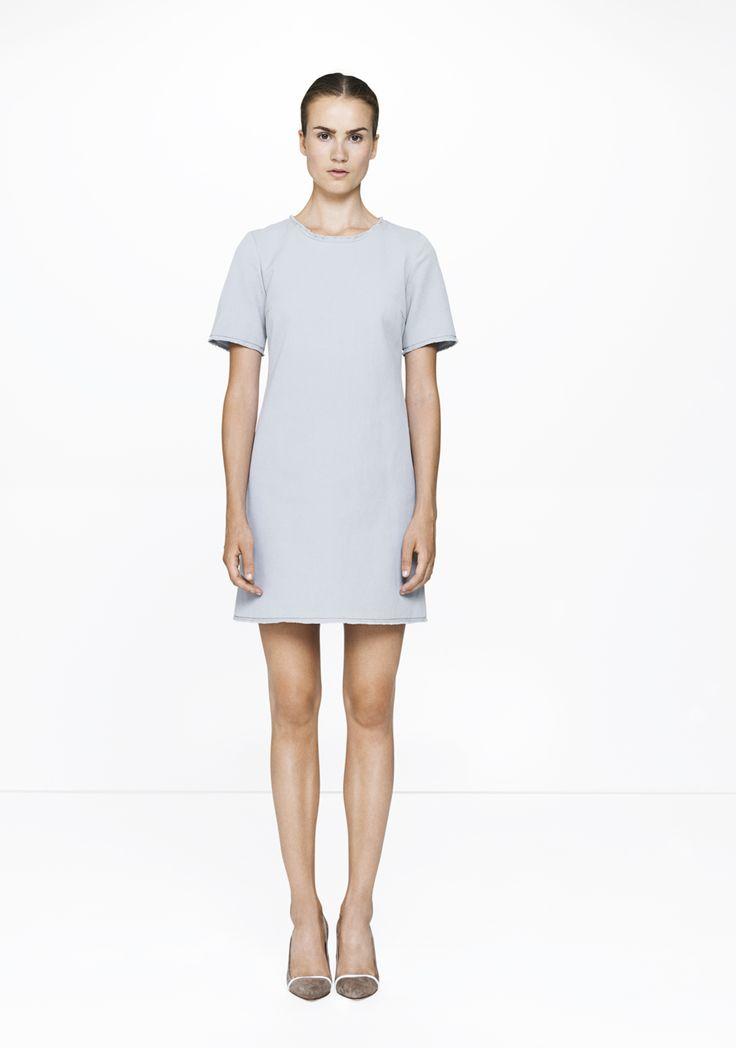 Grey dress /9166-8405  ELISE GUG SS15