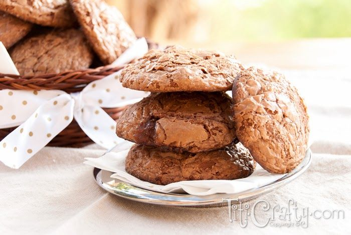 Mars Chocolate Brownie Cookies   The Crafting Nook by Titicrafty