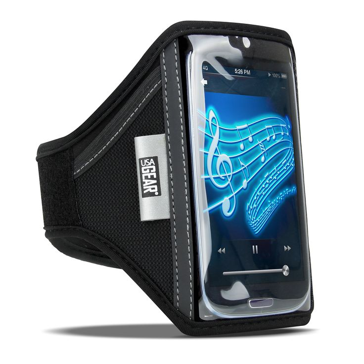 USA Gear FlexARMOR T5 Active Smartphone Armband with 2 Point Adjustment and Flex-Relief Strip - Works With Samsung Galaxy S5 , A5 , S5 Mini , S5 Sport , Alpha , Star 2 , Avant and More Samsung Smartphones. Sports armband made with sweat-resistant neoprene is perfect for running, gym, yoga or any workout! | Will fit Samsung Galaxy S6 Edge , S6 , XCover 3 , J1 , Z1 , E5 , S5 , Alpha & More Smartphones. Adjustable arm band sizes - 2 Slots to choose from |Advanced FLEX-RELIEF strip conforms…