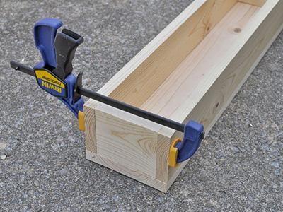 DIY Wooden Box Centerpiece for a Fall Wedding