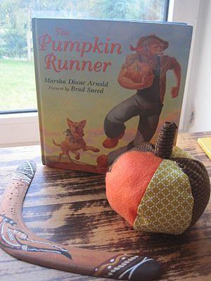 pumpkin runner #unit study #lapbook #FIAR Five in a row Volume 4