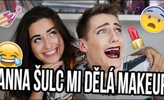 JAK VYPADAT JAKO ANNA ŠULC ?? | MAKE-UP CHALLENGE w/Anna Sulc