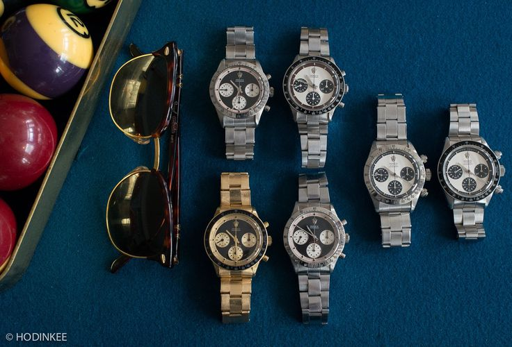 Rolex Daytona Paul Newman all dials