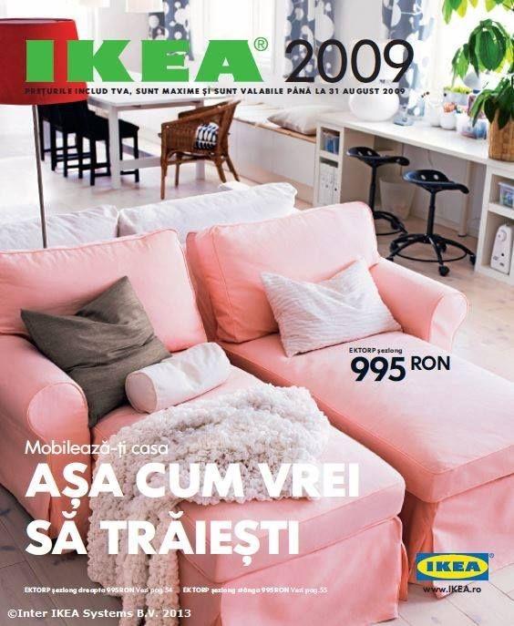 Catalogul IKEA 2009, 376 de pagini ca tu să-ți mobilezi casa așa cum vrei să trăiești.