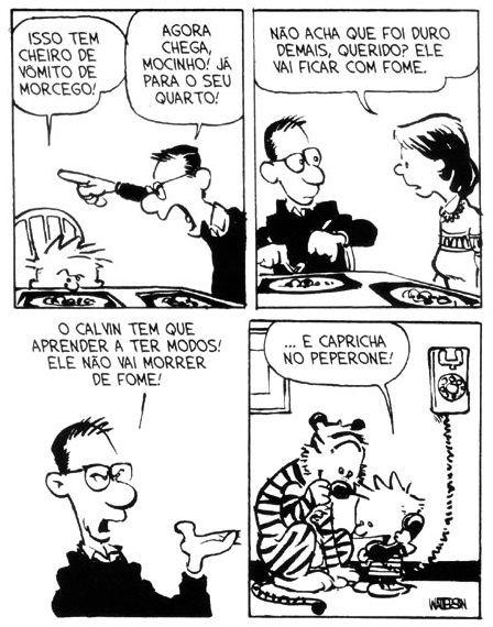 Calvin e Haroldo: Tirinha nº 11