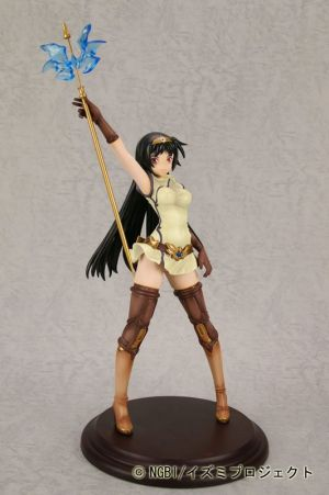 "SIF EX The Tower of Druaga - A Girl in Kai Costume. From the online version of the legendary RPG game The Tower of DRUAGA"". ""A Girl in Kai Costume"" is based on the illustration by Ugetsu Hakua who worked on character design for the DRUAGA online game. This PVC statue stands about 9'' and was sculpted by Takeshi Miyagawa (T's system) - a master of Japanese sculpture.    Manufacturer Yamato USA   Series / Licence The Tower of Druaga   Specifications Approximately (230mm) in height"