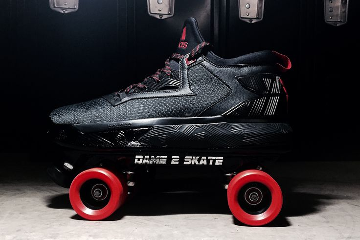 adidas Gifted a Rollerskate Version of the D Lillard 2 to Damian Lillard | Damian  lillard, Adidas and Gift
