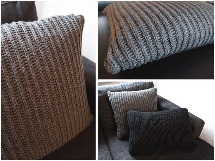 DIY: Knit Pillow