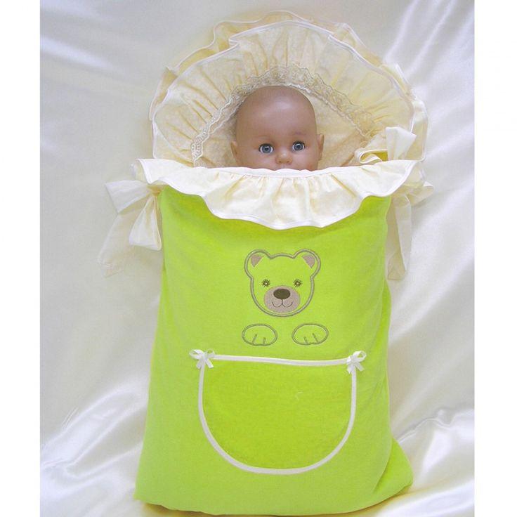 Комплект на выписку Балу Мишутка очень нарядный комплект включает все необходимые принадлежности на выписку новорожденного. Продукция изготовлена из качественных, натуральных материалов, поэтому белье безопасно и гипоаллергенно. Комплект состоит из 7 предметов: конверт одеяло (90х90 см) распашонка чепчик уголок пеленка шапка Ткань: велюр, бязь, кружево, вышивка Наполнитель: синтепон, холлкон-шерсть