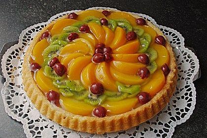 Schneller Biskuit für Obstkuchen