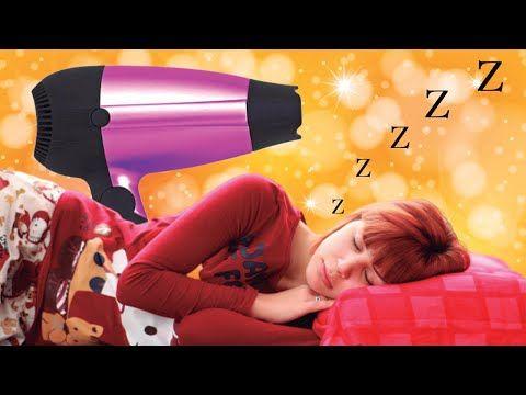 Sonido de Secador de Pelo para Dormir - Ruido Blanco para Dormir - YouTube  em 2020  Dormindo