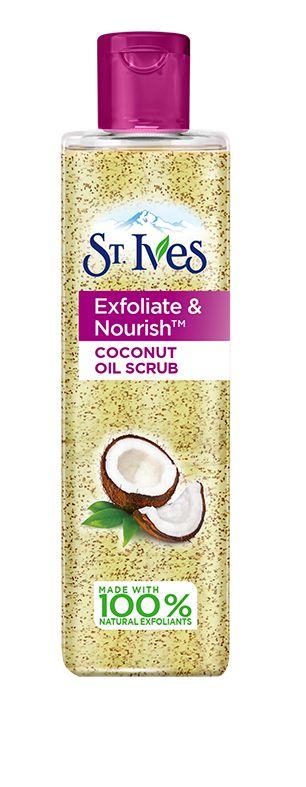 St. Ives Exfoliate and Nourish Coconut Facial Oil Scrub