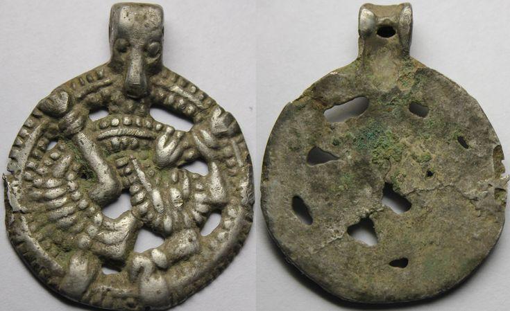 Viking age / Silver pendant/, Scandinavia,