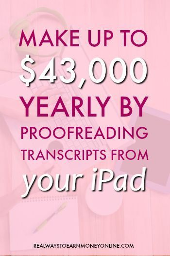 Working from home as a court transcript proofreader - interview with Caitlin Pyle. via @RealWaystoEarn