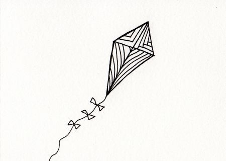 """i have always loved this little sketch. may end up being on my body forever! """"kites fly highest against the wind, not with it"""" """"go where the wind takes you"""""""