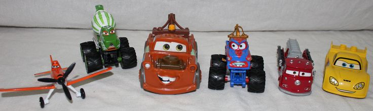 Disney Car Lot Pixar Monster Trucks Planes Fire Engine Toy Figures #Disney #Car #Lot #Pixar #Monster #Trucks #Planes #Fire #Engine #Toy #Figures