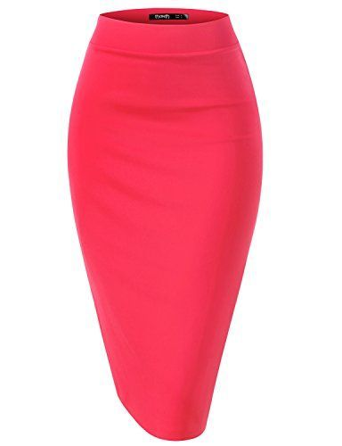 Thanth Womens Elastic Waist Band Scuba Stretchy Fabric Pencil Skirt - READ REVIEW @ http://www.cjbless.com/clothing/thanth-womens-elastic-waist-band-scuba-stretchy-fabric-pencil-skirt/?a=7671