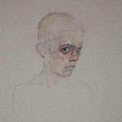 Nathan Ford Joachim 7.16, Oil on canvas 28 x 20 cm