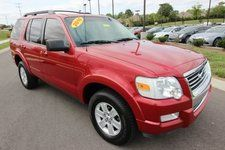 Used 2010 Ford Explorer XLT Red SUV