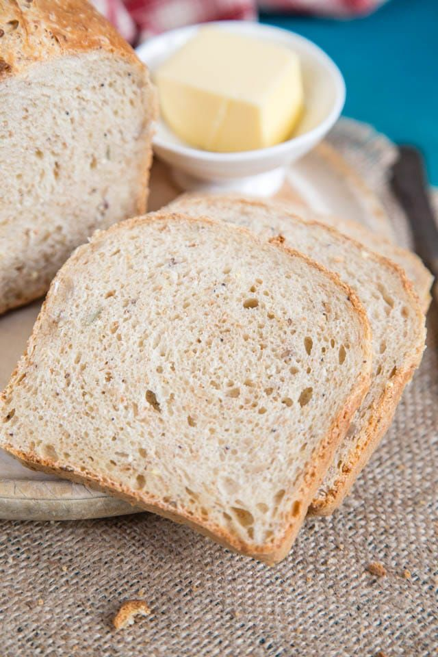 Delicious And Wholesome Bread Made With Home Fermented Milk Kefir Kefir Recipes Recipes Bread Recipes