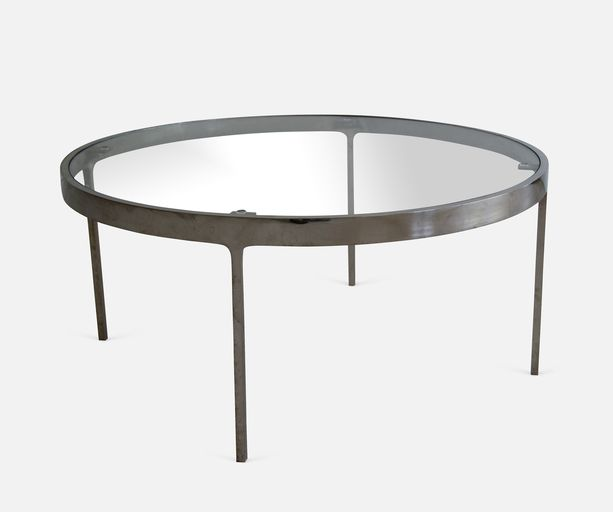 Nicos Zographos, Round Coffee Table, 1957-1958 on Paddle8