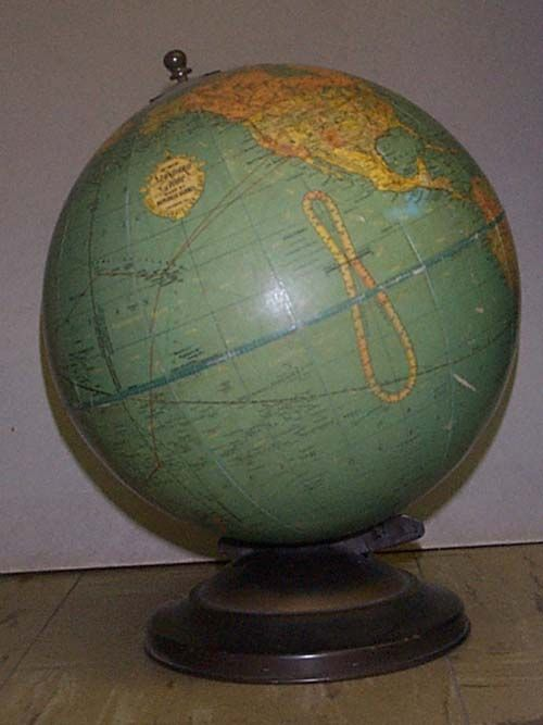 Dating maps and globes