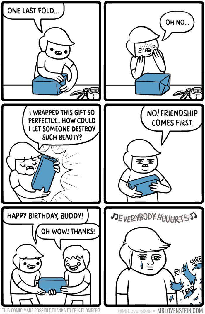 10 Brutally Hilarious Comics For People Who Like Dark Humour Dark Humor Comics Funny Comics Laugh Cartoon
