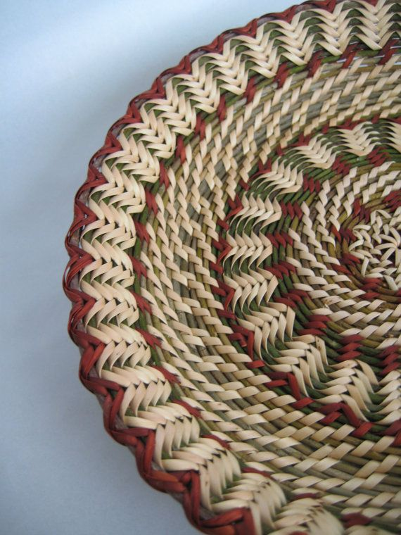 Exquisite work by this basketmaker